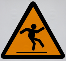 slippery sign(2)